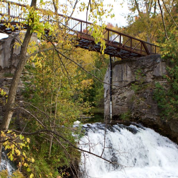 Forks of the credit park, cataract falls, hiking trail, bruce trail, caledon